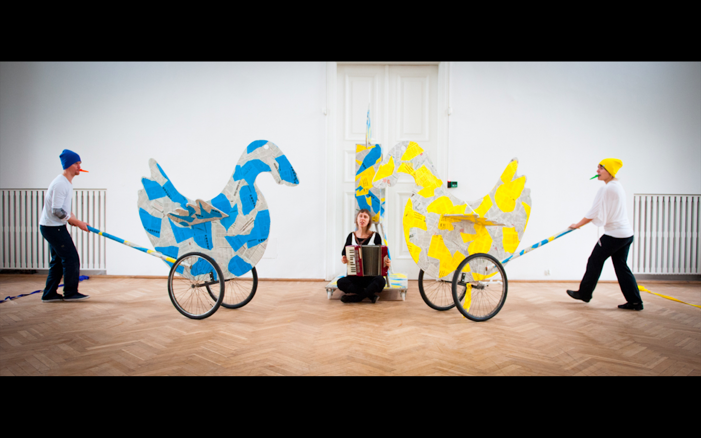JAN DORMAN'S THEATRICAL PLAYGROUND, directed by Justyna Sobczyk, dramaturgy: Justyna Lipko-Konieczna, premiere: 13.10.2012, produced by Zbigniew Raszewski Theatre Institute in Warsaw. Photographer: Marta Ankiersztejn.
