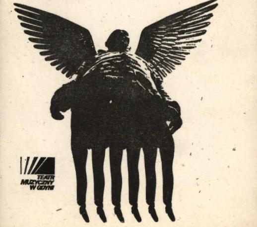 Cover of  <i>Kolęda-nocka</i> Programme, dir. Krzysztof Bukowski, Musical Theatre, Gdynia, premiere: 20 Dec. 1980.
