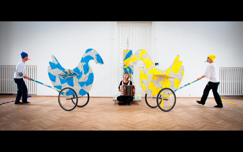 <i>Jan Dorman's Theatrical Playground</i>, directed by Justyna Sobczyk, dramaturgy: Justyna Lipko-Konieczna, premiere: 13.10.2012, produced by Zbigniew Raszewski Theatre Institute in Warsaw. Photographer: Marta Ankiersztejn.