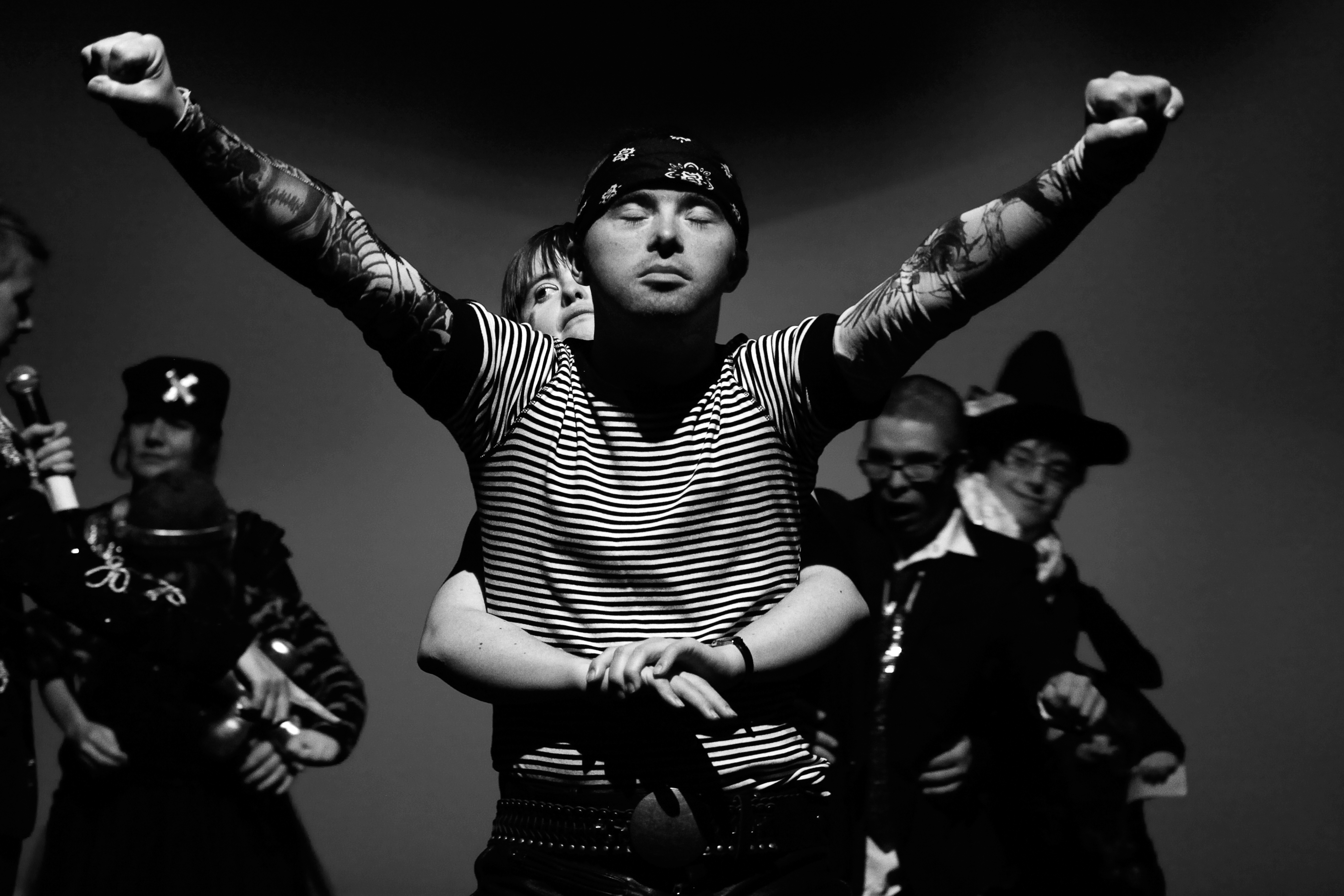 'Downfalls. Episode 2', dir. Justyna Sobczyk, script by Justyna Lipko-Konieczna, Justyna Sobczyk, produced by Teatr 21, premiere: 22.05.2015. Photo: Grzegorz Press.