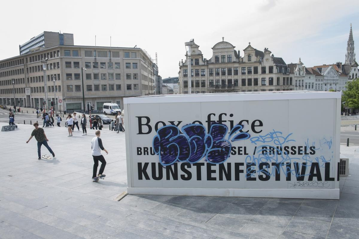 Kunstefestivaldesarts 2017 in Brussels. Photographer: Bea Borgers.